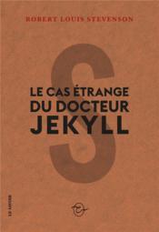 Le cas étrange du docteur Jekyll - Couverture - Format classique