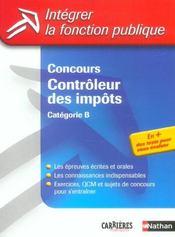 Concours controleur des impots categorie b n07 2004 (édition 2004) - Intérieur - Format classique