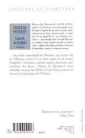 Légende de Madjélis et autres contes - Couverture - Format classique