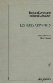 Les Peres Criminels B - Couverture - Format classique