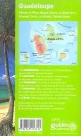 Geoguide ; Guadeloupe (édition 2006) - 4ème de couverture - Format classique