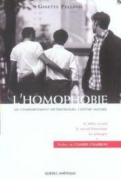 L Homophobie - Intérieur - Format classique