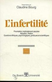 L'Infertilite - Couverture - Format classique