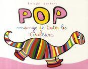 Pop mange de toutes les couleurs - Couverture - Format classique