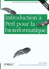 Introduction A Perl Pour La Bioinformatique - Intérieur - Format classique