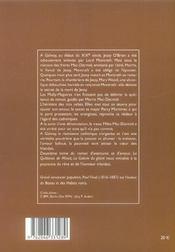 Quittance de minuit t2 la galerie du geant - 4ème de couverture - Format classique