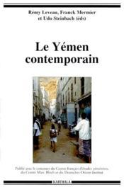 Le Yémen contemporain - Couverture - Format classique