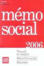 Memo Social 2006 - Intérieur - Format classique