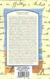 Journal d'un génie adolescent - 4ème de couverture - Format classique