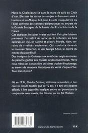 La chaldéenne - 4ème de couverture - Format classique