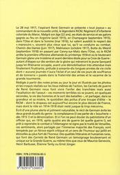 Il revint immortel de la grande bataille ; carnets de guerre 1914-1919 - 4ème de couverture - Format classique