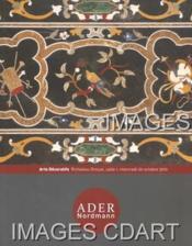 ARTS DECORATIFS. TABLEAUX ANCIENS. BIJOUX. ARGENTERIE. ARCHEOLOGIE. ART PRIMITIF. EXTREME-ORIENT. CERAMIQUE. OBJETS D'ART ET D'AMEUBLEMENT. MOBILIER. TAPISSERIE. TAPIS. [MARIE-EDOUARD ADAM. LAMBINET. POIROT. CONE AU NOM DE MIN. SCARABEE ]. 20/10/2010. (Po - Couverture - Format classique