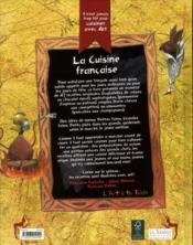 Il n'est jamais trop tôt pour cuisiner avec art ; la cuisine française - 4ème de couverture - Format classique