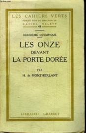 Les Onze Devant La Porte Doree. - Couverture - Format classique