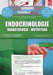 Dossiers Passerelle Ecn Endocrinologie - Couverture - Format classique