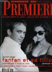 Premiere N° 314 - Vincent Perez, Fanfan Et Sa Tulipe, Confession A Fleur De Peau - Couverture - Format classique