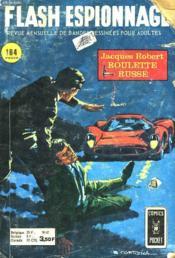 Flash Espionnage - 61 - Roulette Russe - Couverture - Format classique