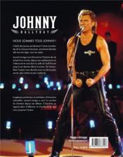 Johnny Hallyday - 4ème de couverture - Format classique