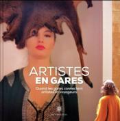 Artistes en gares - Couverture - Format classique