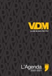 L'agenda VDM (édition 2020/2021) - Couverture - Format classique