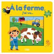 Livre puzzle 4P à la ferme - Couverture - Format classique