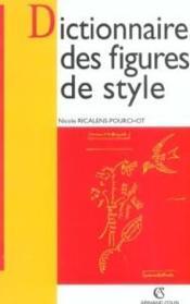 Dictionnaire des figures de style - Couverture - Format classique