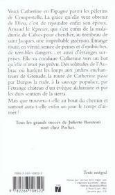 Catherine t.5 ; catherine et le temps d'aimer - 4ème de couverture - Format classique
