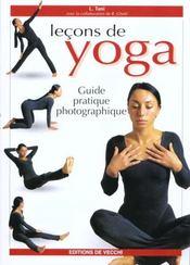 Lecons De Yoga - Intérieur - Format classique