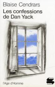 Les confessions de Dan Yack - Couverture - Format classique