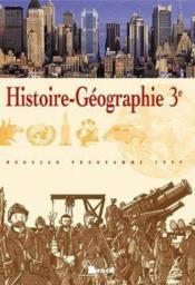 Histoire geographie troisieme - Couverture - Format classique