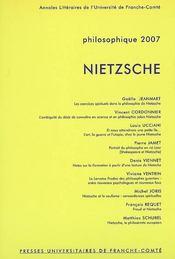 Nietzsche - Intérieur - Format classique