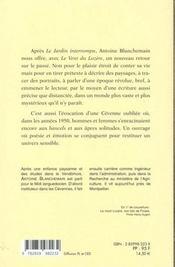 Vent Du Lozere - 4ème de couverture - Format classique