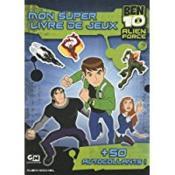 Ben 10 ; mon super livre de jeux - Couverture - Format classique