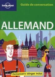 telecharger GUIDE DE CONVERSATION – allemand livre PDF/ePUB en ligne gratuit