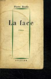 La Face. - Couverture - Format classique