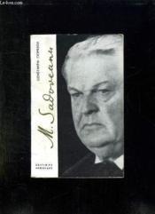 Mihail Sadoveanu. - Couverture - Format classique