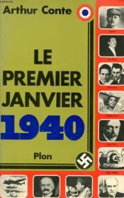 Le Premier Janvier 1940 - Couverture - Format classique