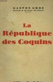 La Republique Des Coquins - Couverture - Format classique
