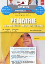 Dossiers Passerelle Ecn Pediatrie - Couverture - Format classique