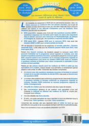 Dossiers Passerelle Ecn Pediatrie - 4ème de couverture - Format classique
