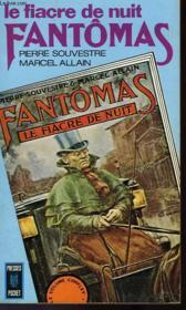 Le Fiacre De Nuit - Fantomas - Couverture - Format classique