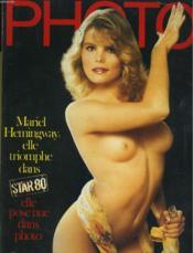 Photo N° 197 - Mariel Hemingway Elle Triompje Dans Star 80, Elle Pose Nue Dans Photo - Couverture - Format classique