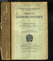 Traite D'Economie Politique / En Deux Tomes - Tomes 1 + 2 - Tome 1 : L'Organisation Economique - Tome 2 : Prix Et Revenus. - Couverture - Format classique
