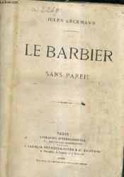 Le Barbier Sans Pareil. - Couverture - Format classique