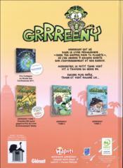 Grrreeny T.4 ; green anatomy - 4ème de couverture - Format classique
