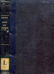 Tableau De La Litterature Francaise Au Dix-Huitieme Siecle - Couverture - Format classique