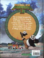 Kung Fu panda 3 ; l'album du film - 4ème de couverture - Format classique