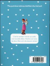 Je commence à lire avec Martine T.5 ; la nouvelle élève - 4ème de couverture - Format classique