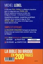 La majeure cinquième compact - 4ème de couverture - Format classique