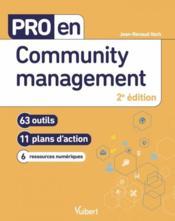 Pro en... ; community management - Couverture - Format classique